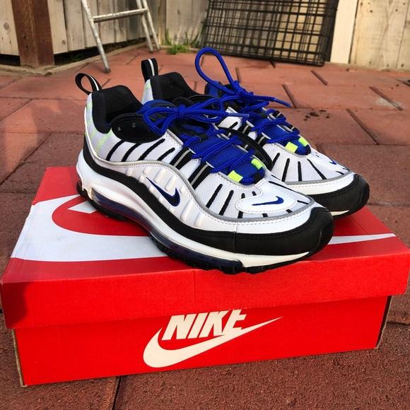 Nike Supreme Shoes Air Max 98 Supreme Obsidian Poshmark